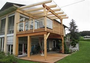 Holzanbau Am Haus : http bauer pallets paletten pinterest balkon gel nder und anbau ~ Markanthonyermac.com Haus und Dekorationen