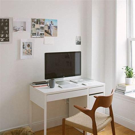 ikea micke computer desk with integrated storage minimalist desk design ideas