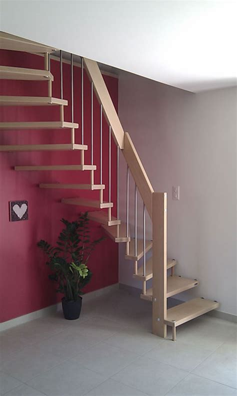 escalier demi tournant bois myqto