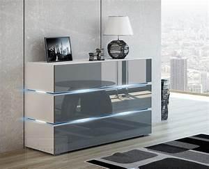 Tv Sideboard Weiß : kaufexpert sideboards und kommoden ~ Markanthonyermac.com Haus und Dekorationen