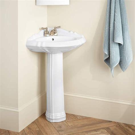 17 best ideas about corner pedestal sink on pedistal sink pedestal sink bathroom