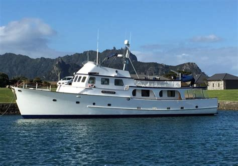 Boat Dealers Auckland New Zealand by Used Luxury New Zealand Built 73ft Motoryacht For Sale