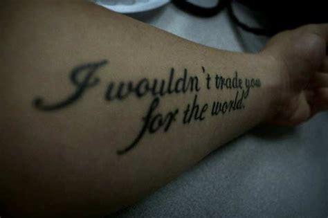 30 Relatable Love Quote Tattoos