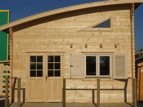 chalets habitables en bois en kit avec mezzanine