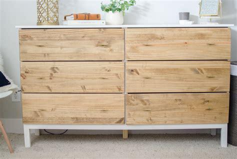 ikea tarva 6 drawer dresser assembly diy bedroom dresser ikea tarva dresser hack