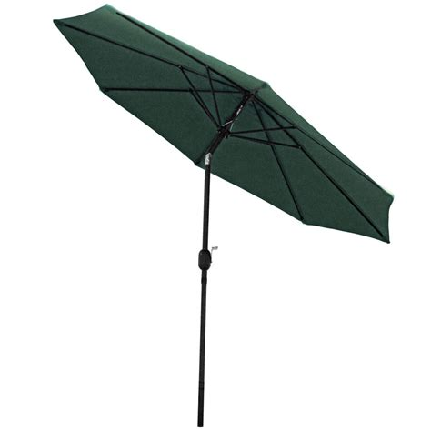 sunnydaze aluminum 9 foot patio umbrella with tilt crank ebay