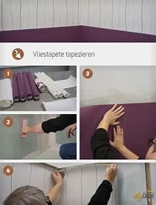 Vinyltapete Tapezieren Tipps : vliestapete tapezieren anleitung tipps ~ Markanthonyermac.com Haus und Dekorationen