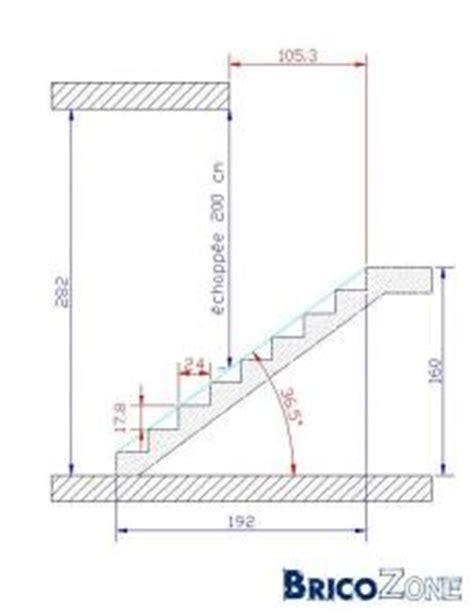 calculer la tr 233 mie de mon escalier