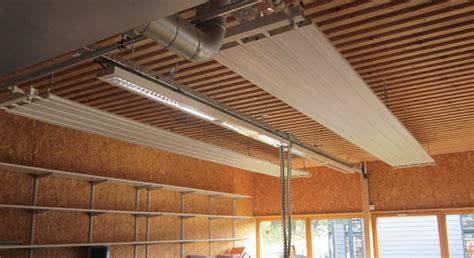 sabiana sabiatherm panneau plafond rayonnant chauffant rafraichissant aerotherme