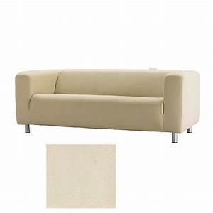 Ikea Sofa Bezug Klippan : ikea klippan sofa slipcover cover alme natural beige cotton ~ Markanthonyermac.com Haus und Dekorationen