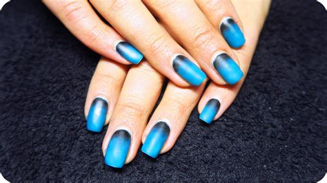 Matte Ombre Nails With Gel Polish // How To Gel Nails At