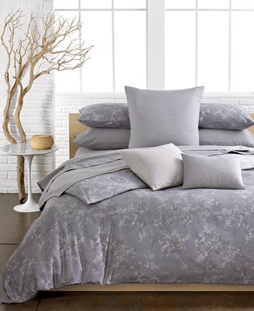 calvin klein lilacs comforter and duvet cover sets