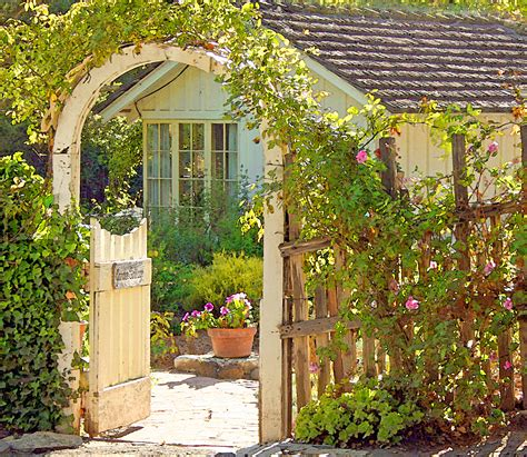 Garden Cottage  Once Upon A Timetales From Carmel By