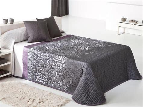 couvre lit violet mundu fr