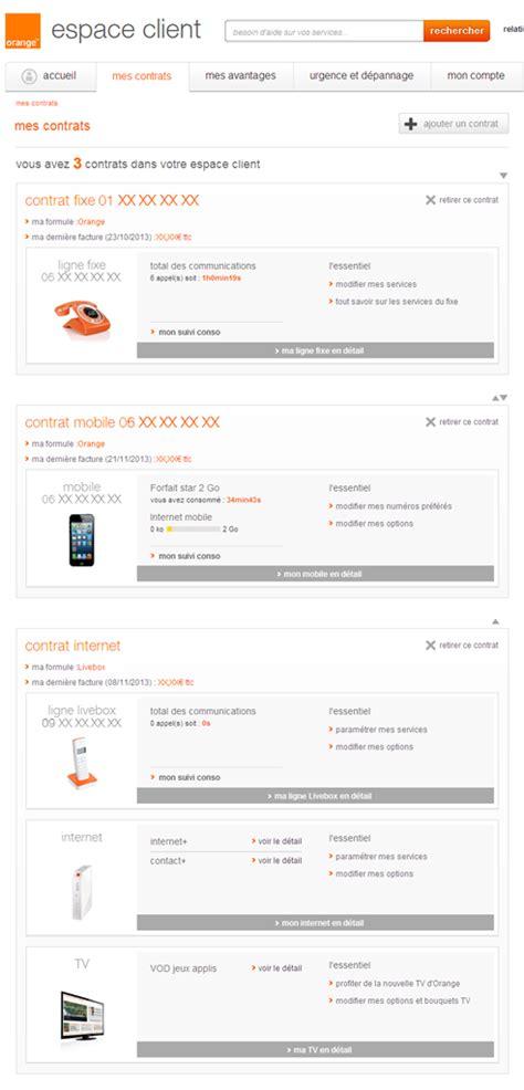 g 233 rer votre abonnement dans votre espace client assistance orange