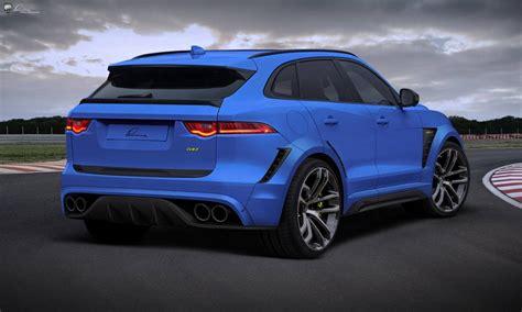 2019 Jaguar F Pace Svr Exterior Wallpapers  New Car News