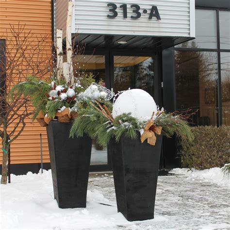 du jardin dans vos d 233 corations hivernales galeries d ext 233 rieurs jardinage et ext 233 rieur