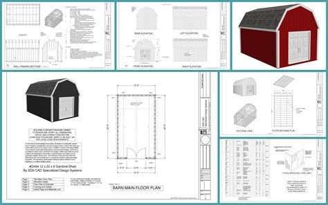 8x12 shed plans free mccarte gable shed plans 8x12