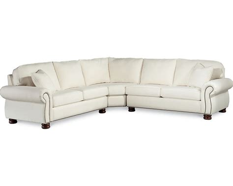 thomasville leather sofa with chaise best home furniture decoration