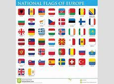 Staatsflaggen von Europa stock abbildung Bild von moldau