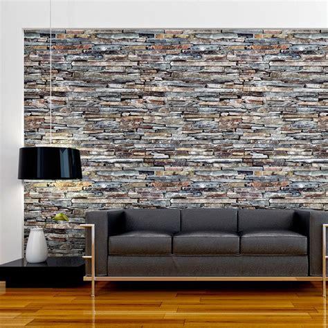 papier peint effet brique