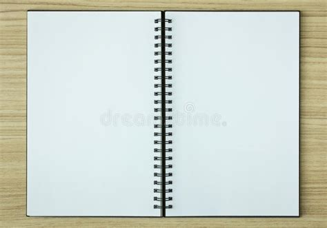 Open Spiral Notebook Stock Image Image Of Object, Cover 59776559