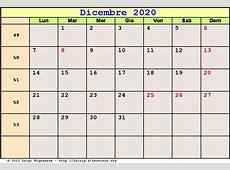 Calendario Dicembre 2020 PDF Avvento, Natale, Solstizio