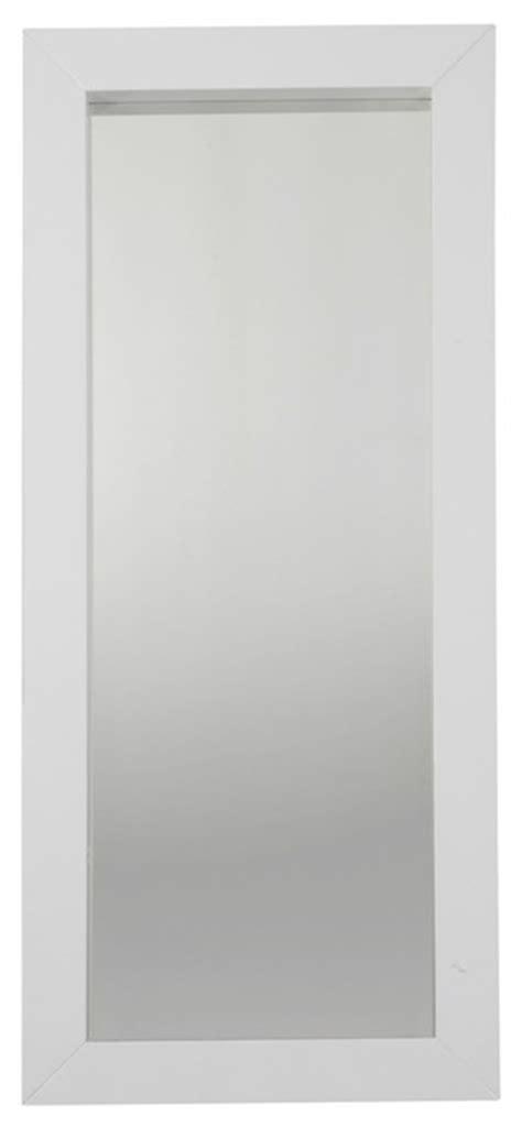 miroir blanc laque alinea