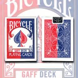 gaff effect deck bicycle by uspcc trick gaffeffr 163 13 50 the magic attic
