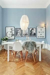 Wandfarbe Für Esszimmer : skandinavisches design im esszimmer 50 inspirierende ideen f r einen gem tlichen und ~ Markanthonyermac.com Haus und Dekorationen