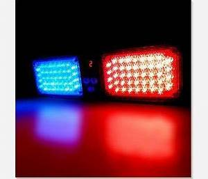 Free shipping 1pcs Red and Blue 86LED Hight Power Car ...