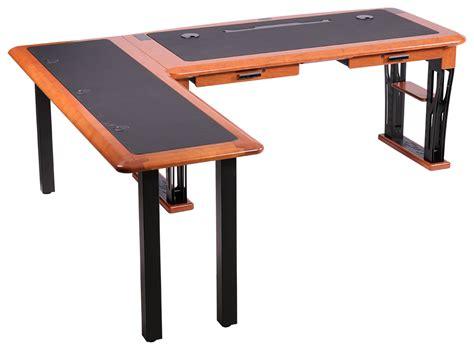 modern desk 2 l shaped left caretta workspace