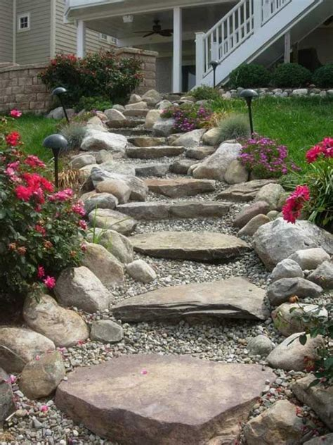 Slope Yard Ideas by Best 25 Landscaping A Slope Ideas On Pinterest Sloped