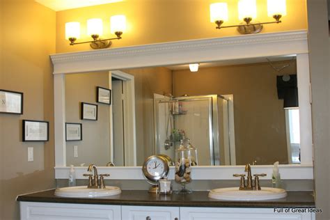 Full Of Great Ideas Framing A Builder Grade Mirror That. Modern Landscape Design. African Landscape. Gold Chairs. Oven Hoods. Average Coffee Table Size. Modern Kitchen Faucets. Apex Energy Solutions. Sandstone Tile