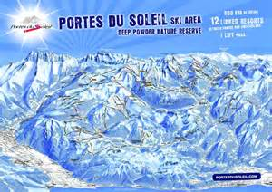 morzine and avoriaz ski map consult pist maps of portes du soleil and les gets ski area