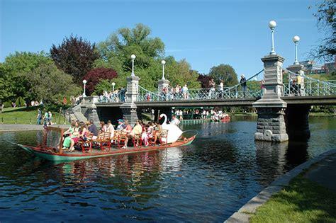 Swan Boats Boston Public Garden by Top 10 Outdoor Activities In Boston