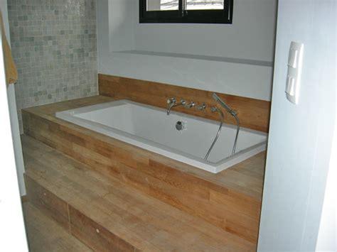 baignoire encastr 233 e contemporain salle de bain nantes par mag 44