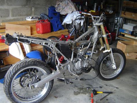 transformation d une 50cm3 derbi drd mecacustom