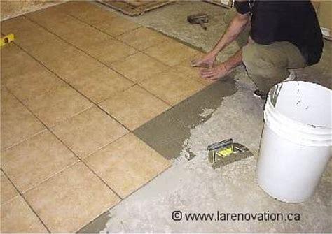 faire la r 233 novation d un plancher de salle de bain