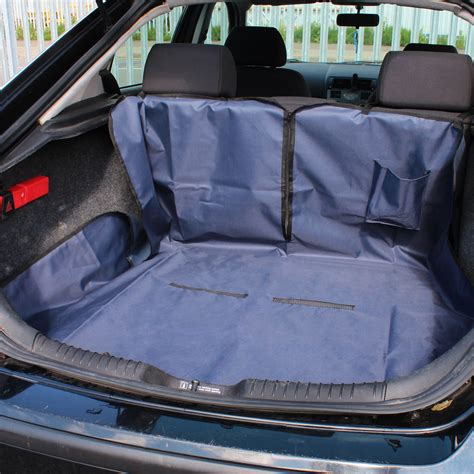 Dog Boat Seat by Me My Pet Car Boot Liner Rear Seat Cover Protector Spill