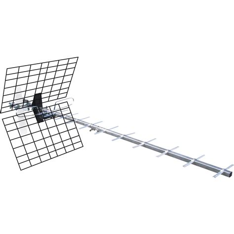antenne tv ext 233 rieure tnt hd metronic 20 db leroy merlin