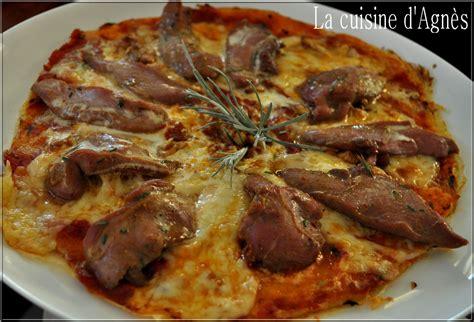 pizza aux aiguillettes de canard la cuisine d agn 232 sla cuisine d agn 232 s