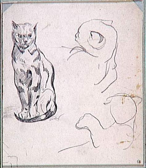 eug 232 ne delacroix 1798 1863 the great cat