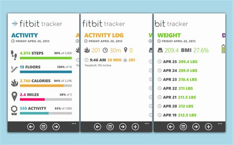 fitbit tracker for windows phone gets updated for the fitbit winsource