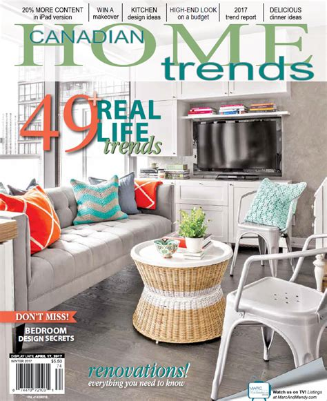 up your free canadian home trends winter 2017