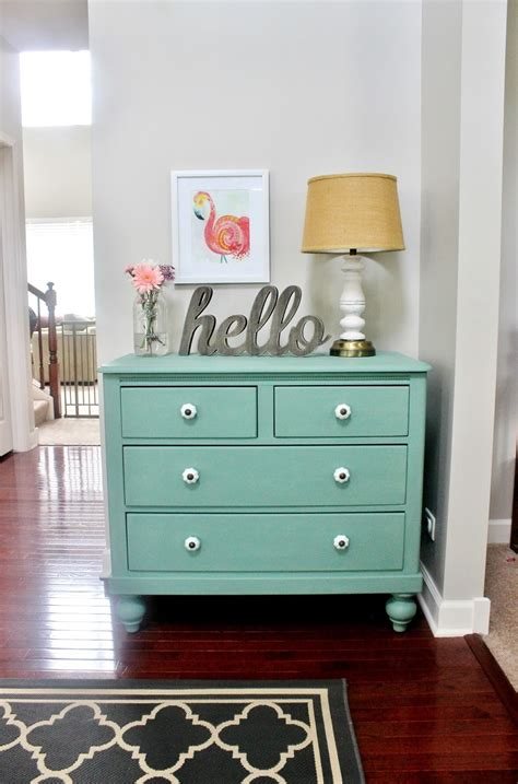 Meet Pearl Chalk Paint Dresser Makeover  Delightfully Noted