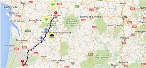 itineraire de voyage en limoges 224 mont de marsan itin 233 raires pan europ 233 ens de l