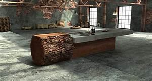 Küche Beton Holz : holz in der k che ~ Markanthonyermac.com Haus und Dekorationen