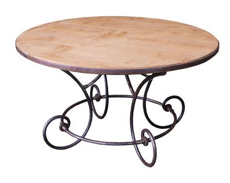 table basse ronde fer forge ezooq