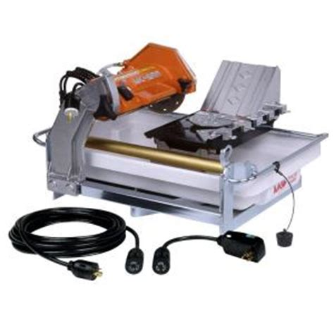 mk mk 660hd 7 in tile saw tile saw small the home depot